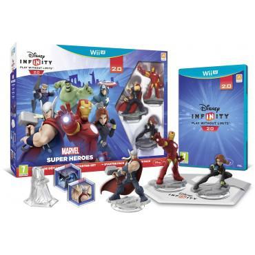 Pack de démarrage Marvel Super Heroes  Disney Infinity 2.0 sur Wii U