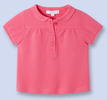 Jusqu'à 30% de réduction sur une sélection de chaussures et  vêtements - Ex:  Polo manches courtes pour bébé