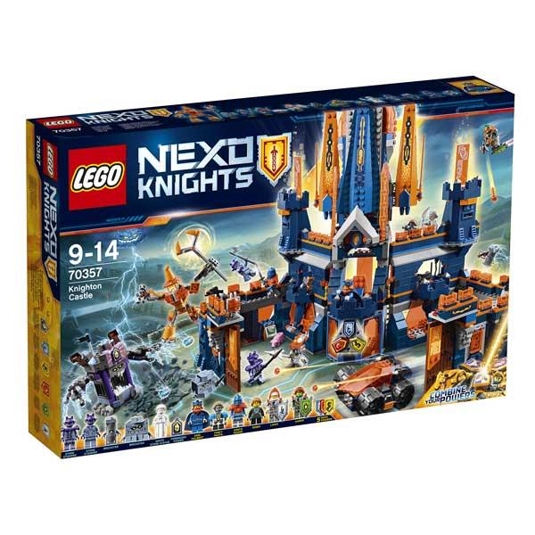 Sélection de jouets Lego Nexo Knight en promotion - Ex : Le Château de Knighton (70357)