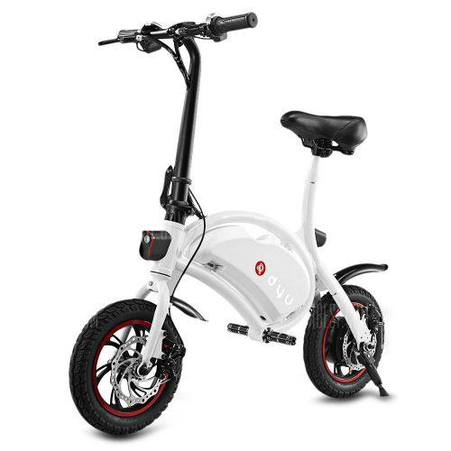 Draisienne électrique F-Wheel D1 DYU - blanc