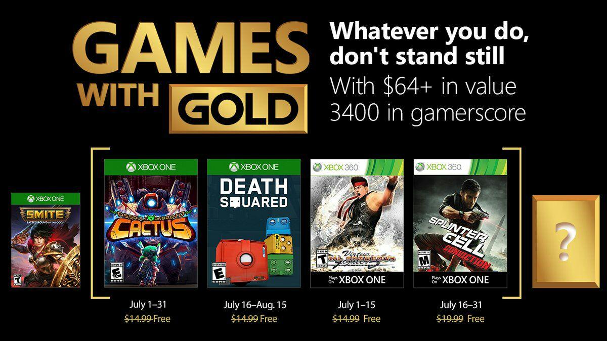 [Membres Gold] Sélection de jeux vidéo Xbox One et Xbox 360 offerts (dématérialisés) - Ex : Assault Android Cactus sur Xbox One et Virtua Fighter 5 Showdown sur Xbox 360 (rétrocompatible Xbox One)
