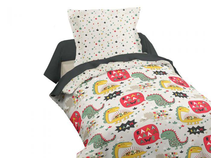 Sélection de parures de lit en promotion - Ex : Parure housse de couette 140x200cm + taie 100% coton