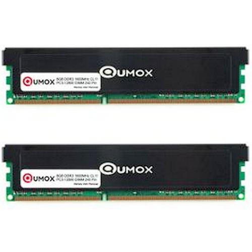 Kit mémoire 16 Go (2x8Go) DDR3 Qumox 1600 MHz