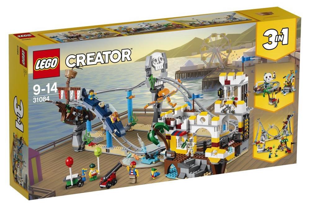 Sélection de Sets Lego en Promotion - Ex: 31084 Créateur: Pirate Roller Coaster