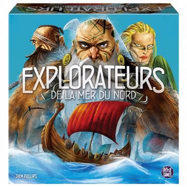 Jeu de société Pixie Games Explorateurs de la Mer du Nord