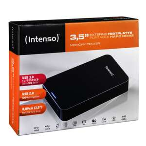 """Disque Dur Externe 3.5"""" USB 3.0 Intenso Memory Center - 4 To"""