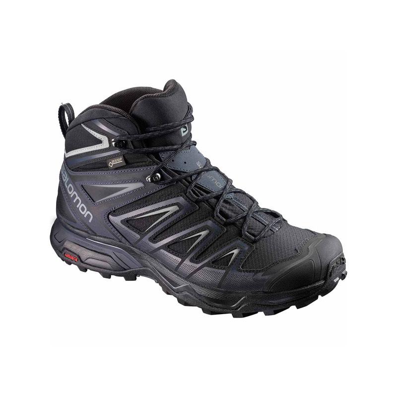 Chaussures de randonnée Salomon X Ultra 3 Mid GTX - noir (du 41 1/3 au 45 1/3)