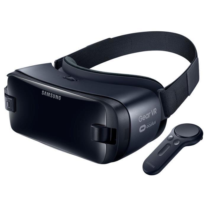 Casque Samsung Gear VR avec contrôleur gris