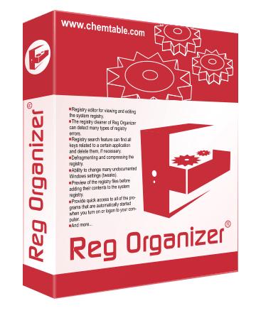 Logiciel d'optimisation Reg Organizer gratuit