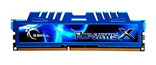 Barrette mémoire G.Skill Ripjaws - 8 Go  (PC12800 1600Mhz 1.5V CL9)
