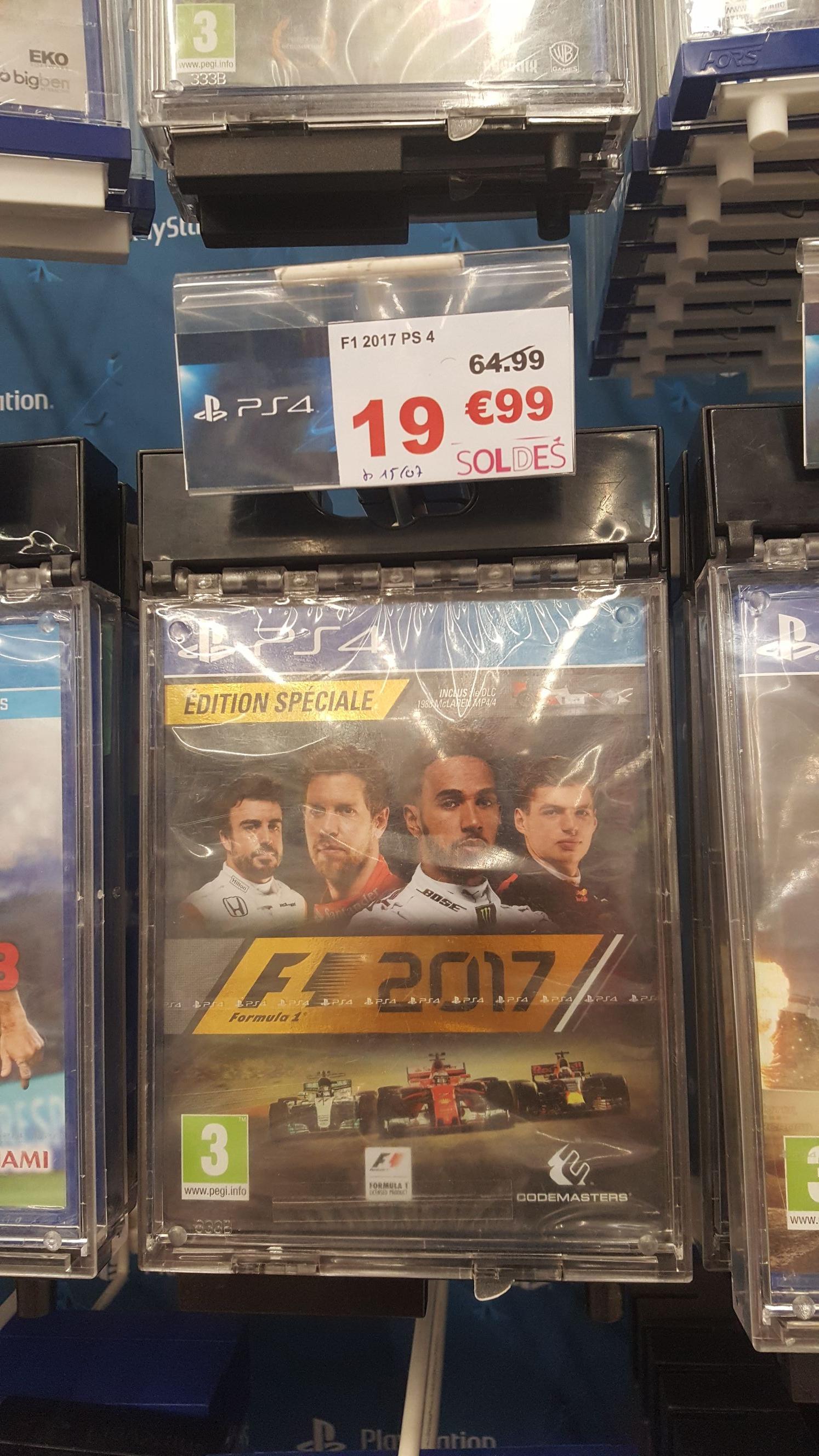 Jeu F1 2017 sur PS4 - Bessoncourt (90)