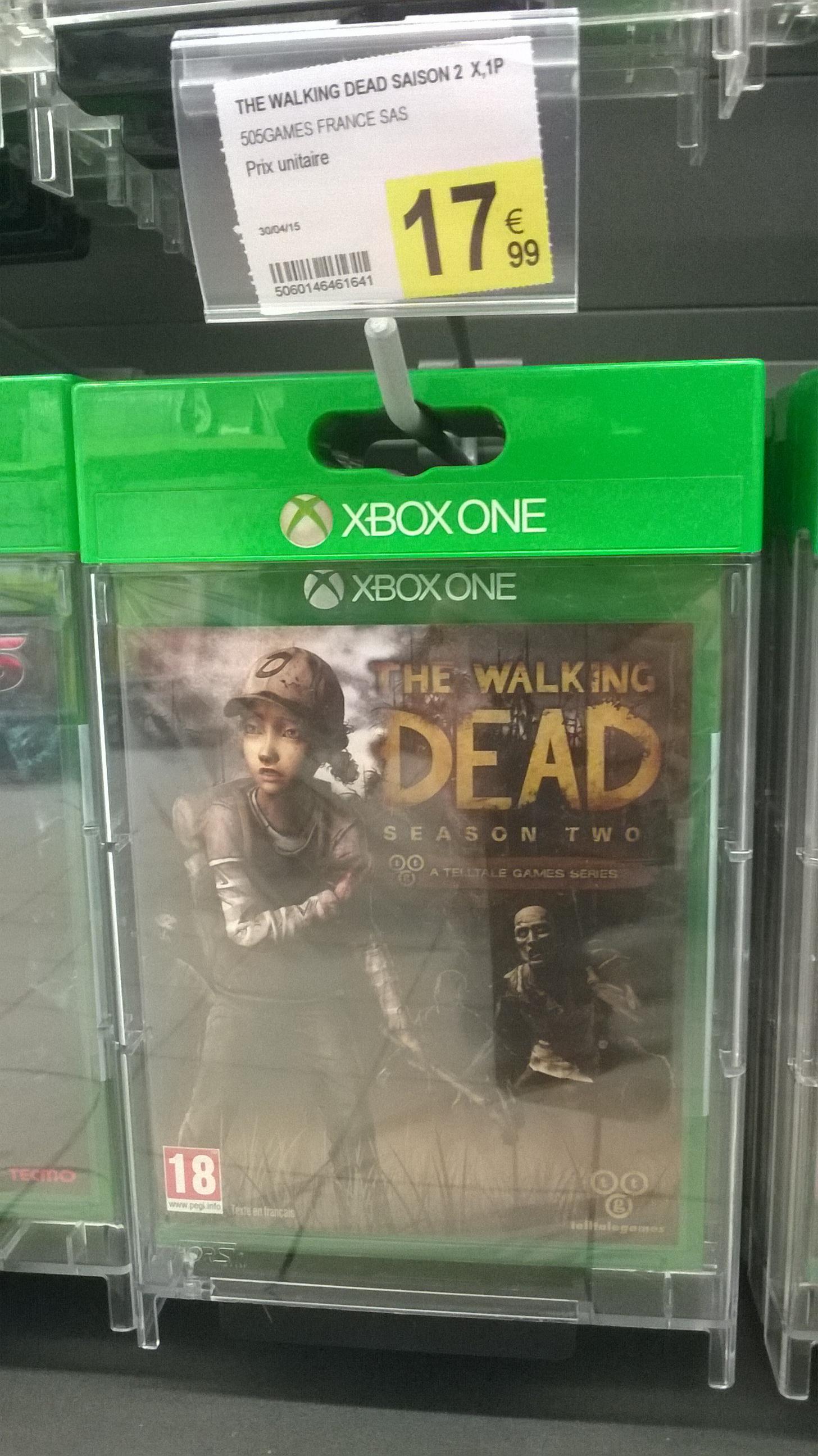 Jeu Xbox One: The Walking Dead Saison 2