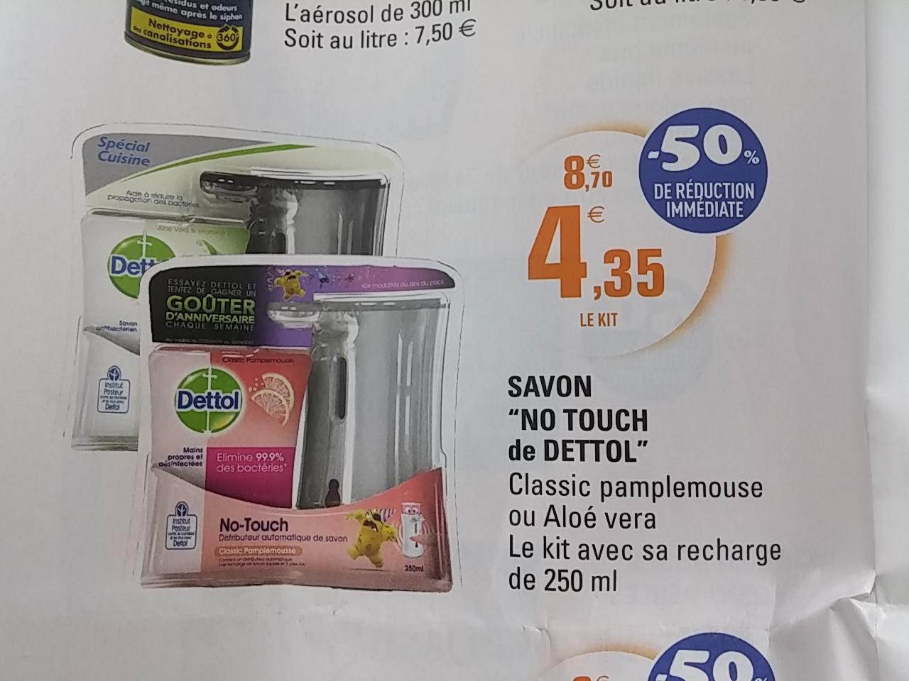 Distributeur Automatique de Savon Dettol No Touch