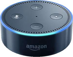 Assistant vocal Amazon Echo Dot - blanc ou noir
