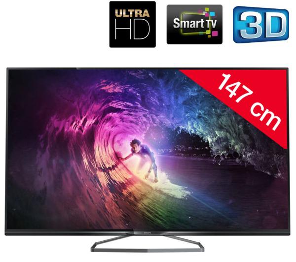"""TV LED 58"""" 4K Philips 58PUS6809"""