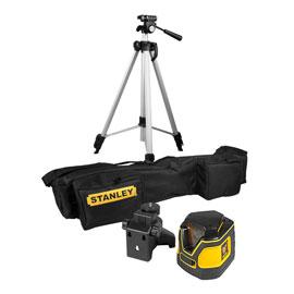 Niveau laser 360° Stanley SLL360 + trépied + Housse  (avec ODR 30%)