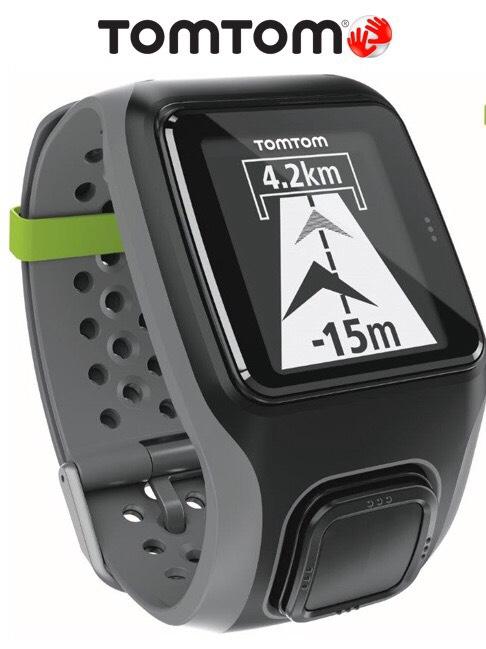 Montre GPS Tomtom Multi-Sport HRM + ceinture cardio-fréquencemètre