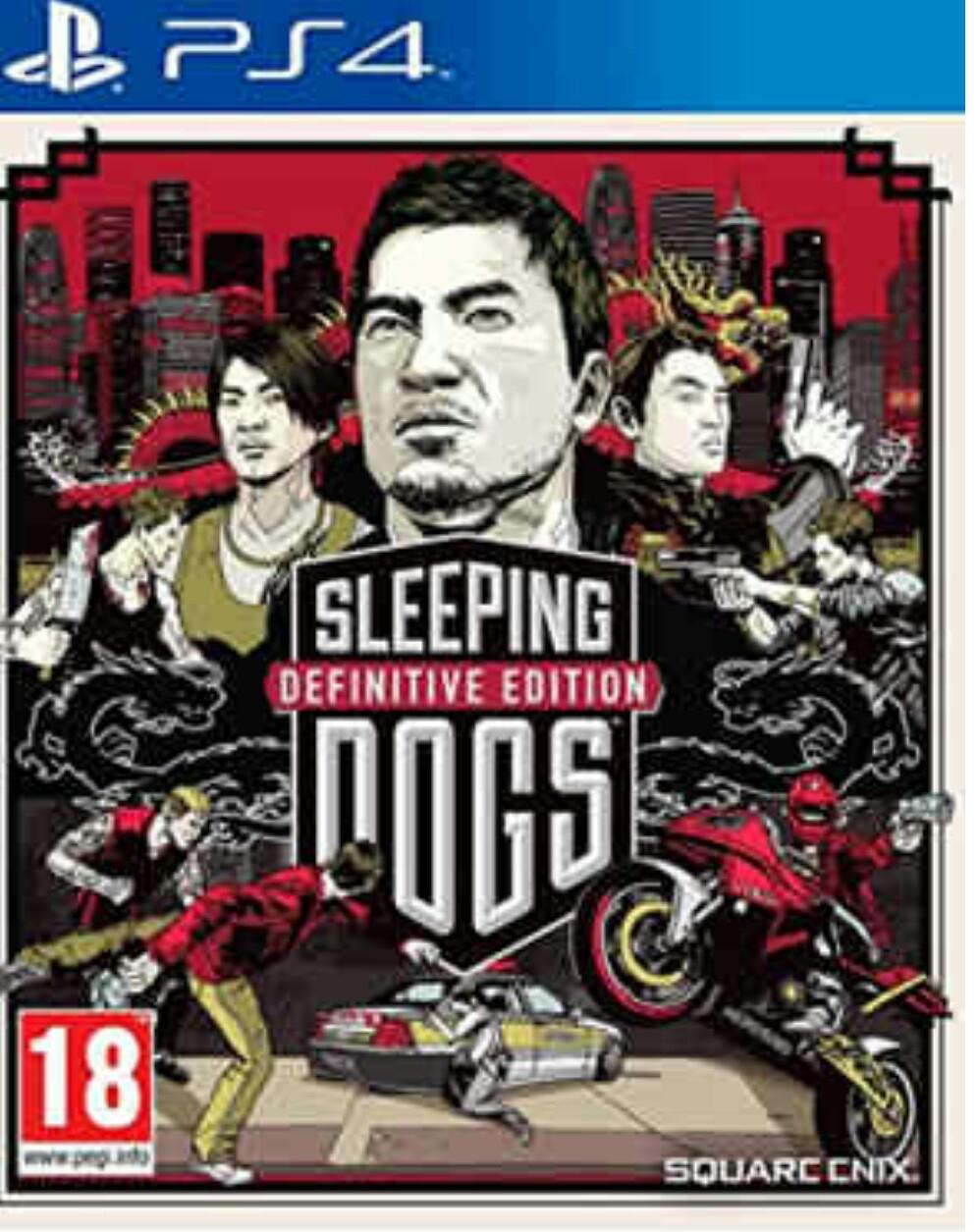 Sleeping dogs: Définitive édition sur PS4