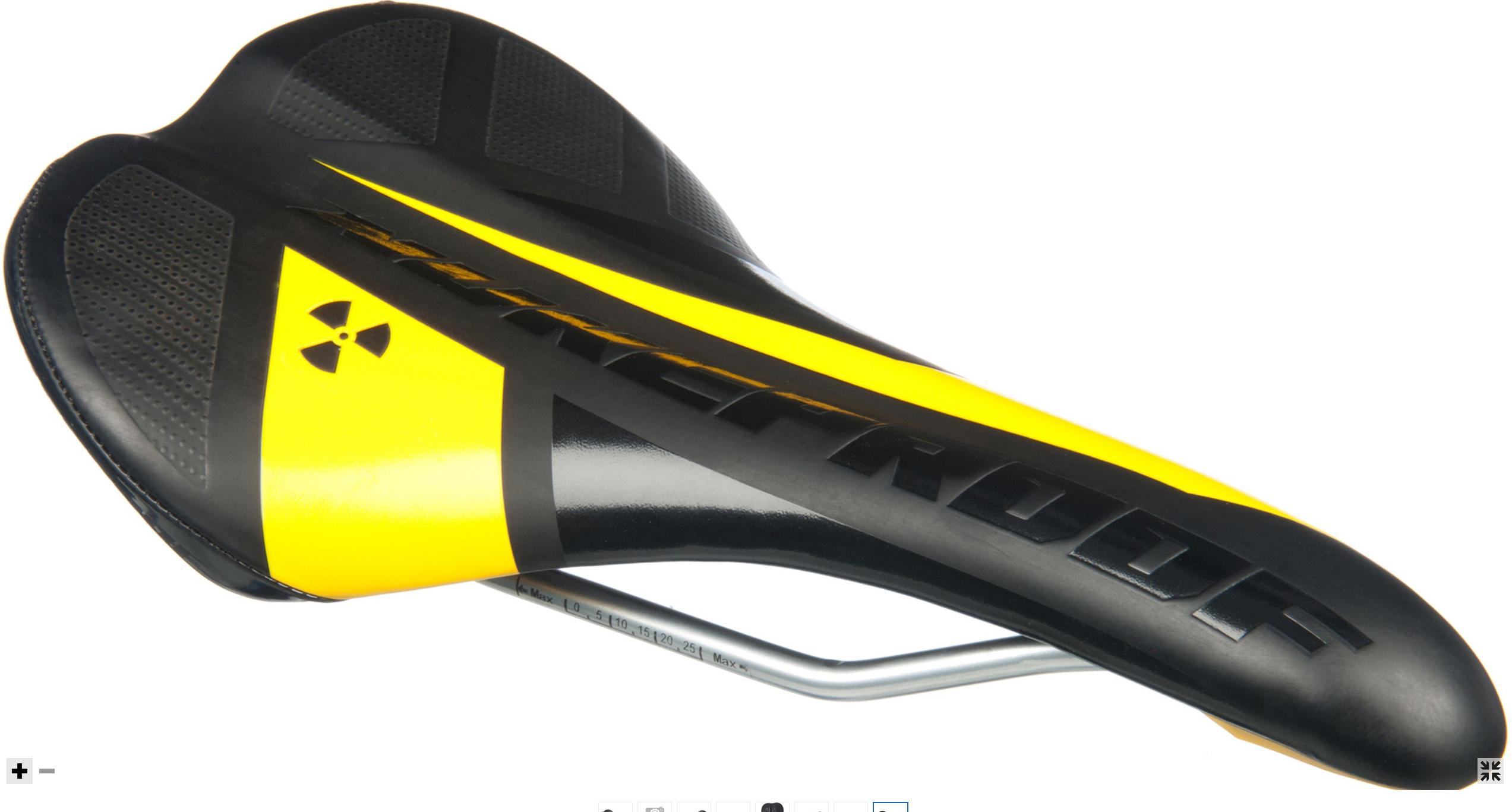Selle VTT Nukeproof Plasma Trail et Plasma Speed (Noir ou Jaune)