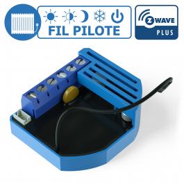 Module pilote encastrable pour chauffage électrique Z-Wave+ Qubino ZMNHJD1