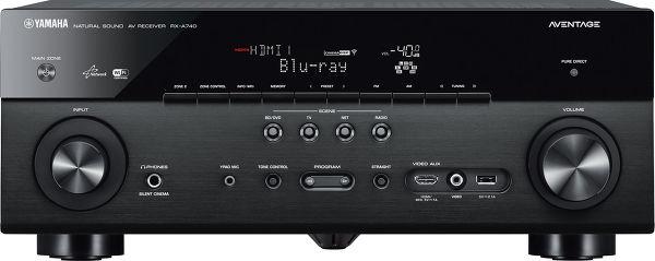 Amplificateur 7.2 Yamaha Aventage RX-A740 -  Noir