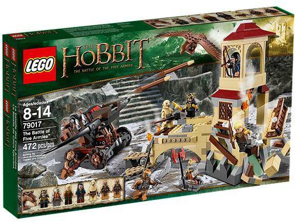 Jeu Lego The Hobbit 79017 : La bataille des Cinq Armées