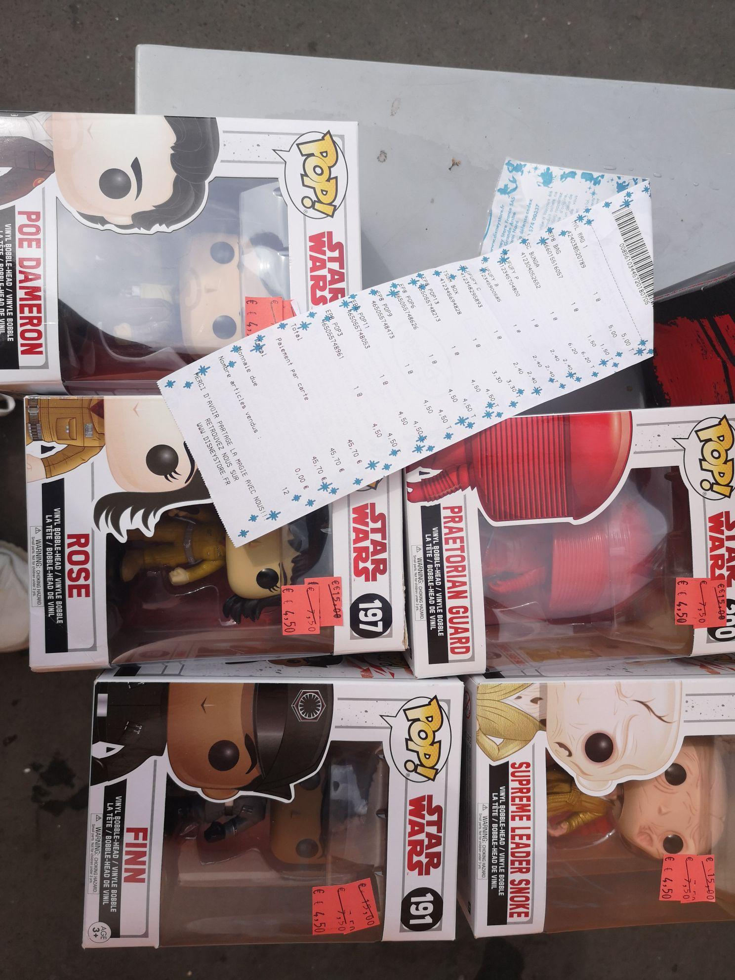 Sélection de figurines Funko Pop en promotion - Ex : Star Wars Finn (Épine 94)