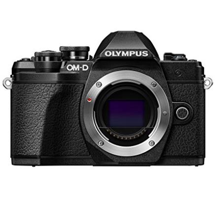 Appareil Photo Hybride Olympus E‑M10 Mark III (Boitier Nu) + Sac Messenger OM‑D (Mini) + 2ème Batterie BLS‑50