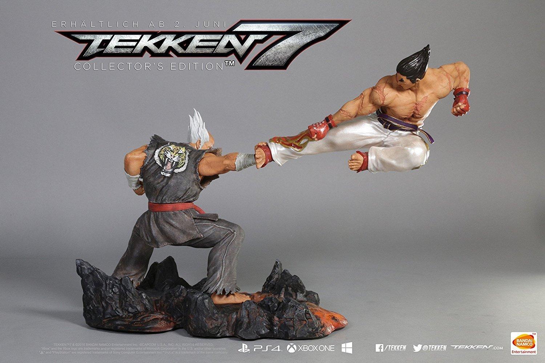 Figurine collector Tekken 7 - 30cm de hauteur et 45cm de long