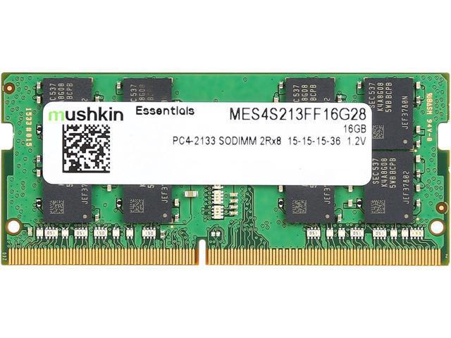 Barrette mémoire DDR4 SO-DIMM Mushkin MES4S213FF16G28  - 16 GO, 2133Mhz, 15-15-15-35, 1.2V