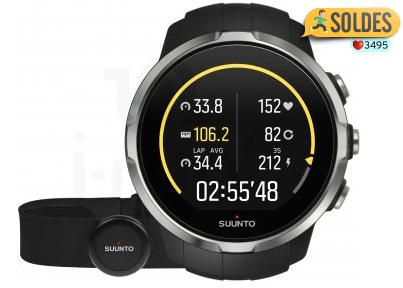 Montre GPS Multisport Suunto Cardio Spartan Black HR