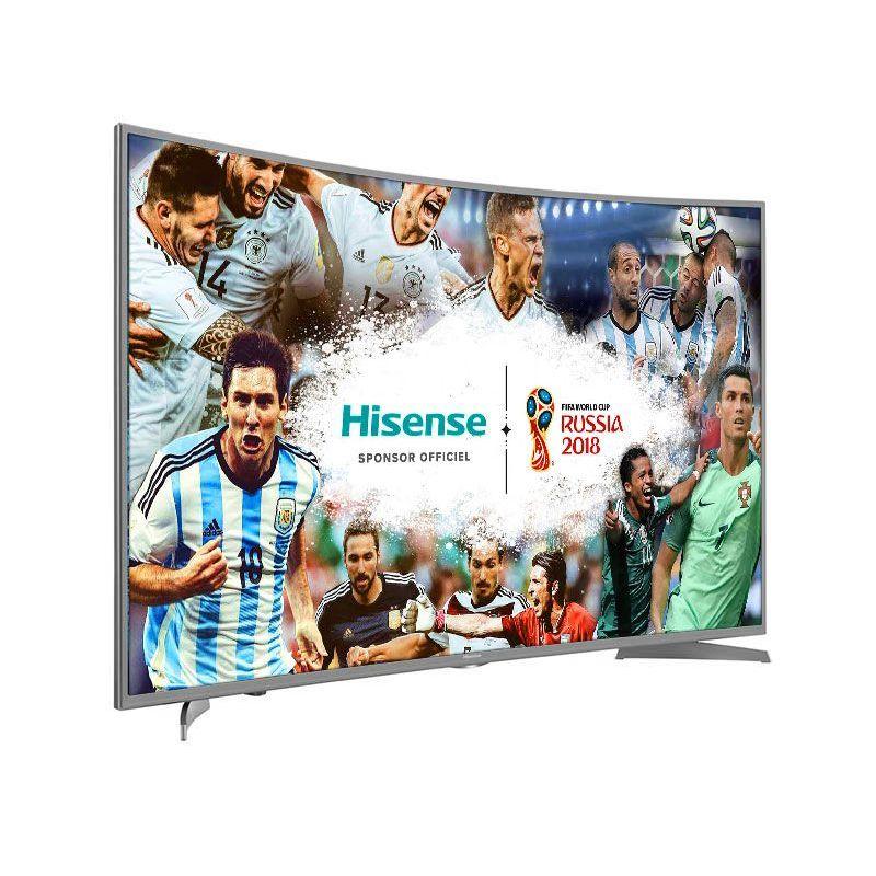"""TV 49"""" Incurvée Hisense H49NEC6500 -  UHD 4K, HDR, Smart TV"""