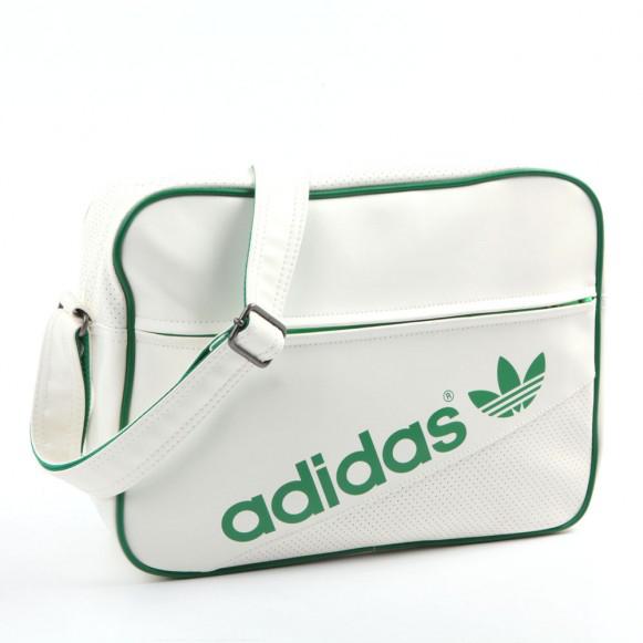 sac bandoulière blanc Adidas Originals Airline