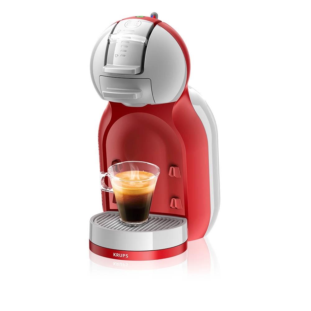 Lot de 12 boîtes de Capsules Nescafé Dolce Gusto achetées = 1 Machine à Capsules Krups Mini Me Rouge offerte