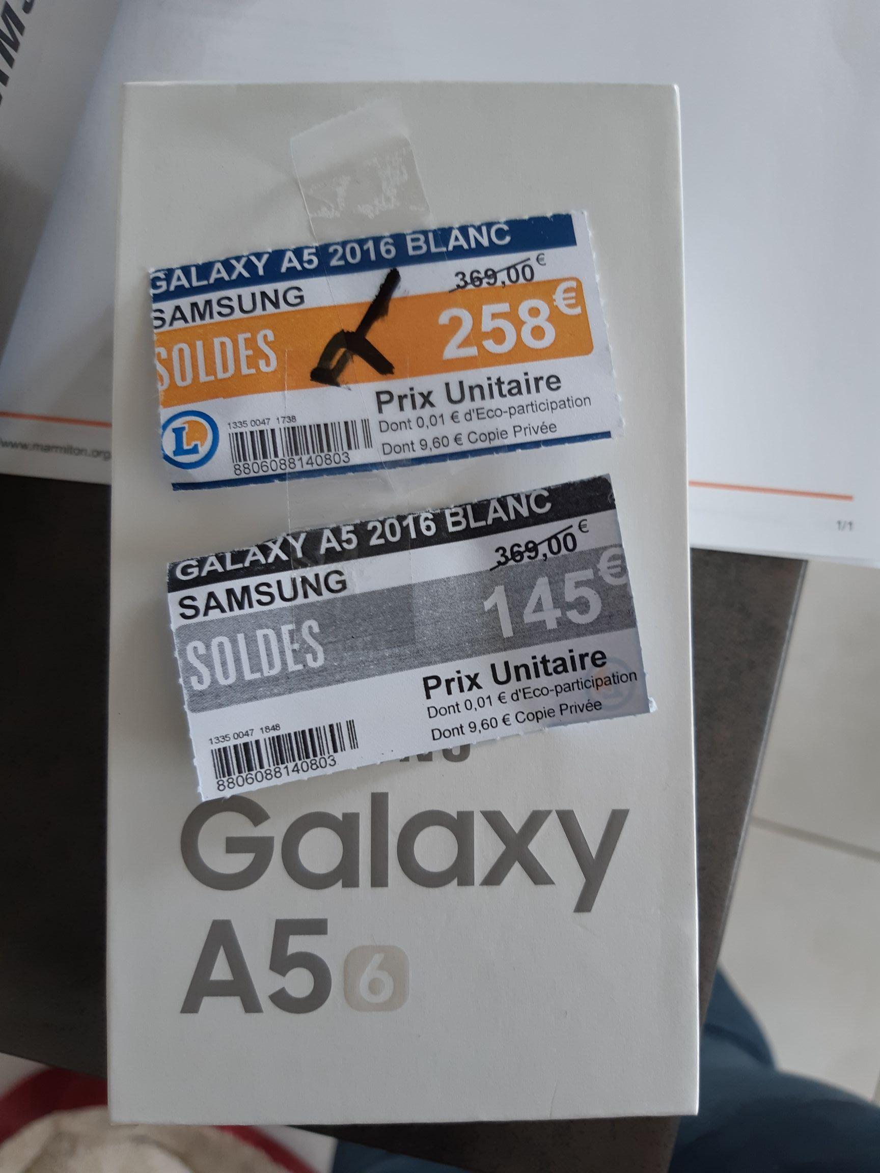 """Smartphone 5.2"""" Samsung Galaxy A5 (2016) - 2 Go de RAM, 16 Go ROM - Saint Malo (35)"""