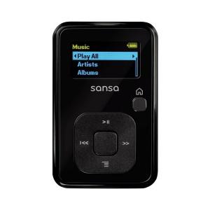 Lecteur MP3  Sandisk - Sansa Clip Plus - SDMX18 008G E46K  Radio FM - 8 Go - Noir