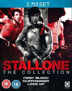 Coffret 3 Blu-ray: Stallone Triple (First Blood / Cliffhanger / Lock Up)