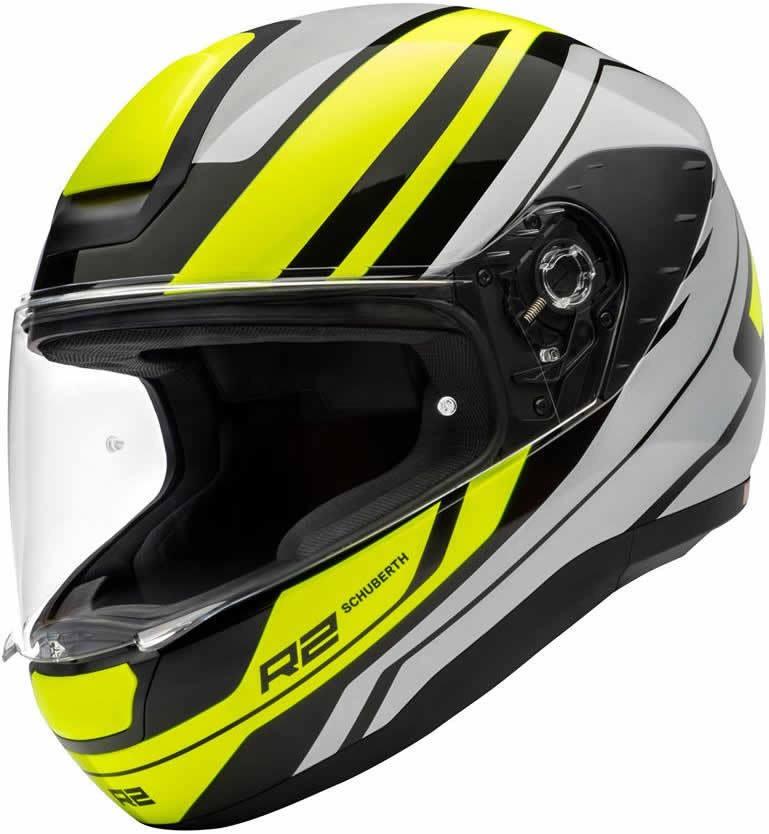 Casque moto intégrale Schuberth r2 - Coloris et taille au choix avec visière teintée