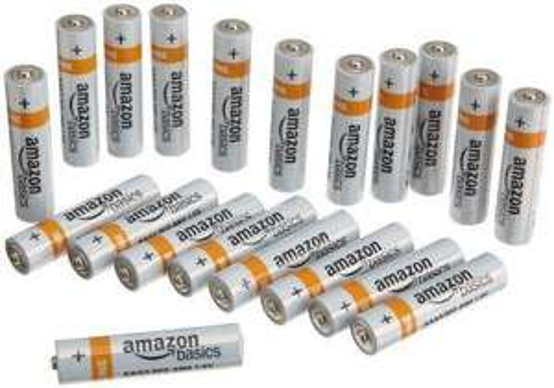 Lot de 20 piles alcalines AAA (LR03) AmazonBasics