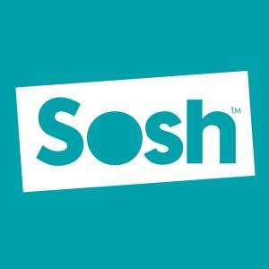 [Client Sosh hors promotion] Option internet mobile data 4G 2 Go gratuite pendant 1 an