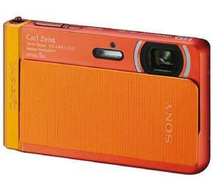 Appareil Photo Sony DSC-TX30 18 Mpix Full HD Etanche - Orange