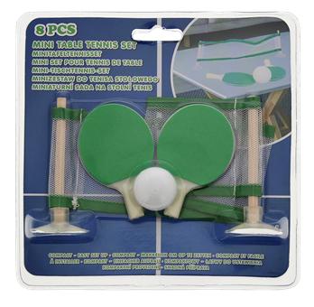 Kit de mini-tennis de table - 8 pièces