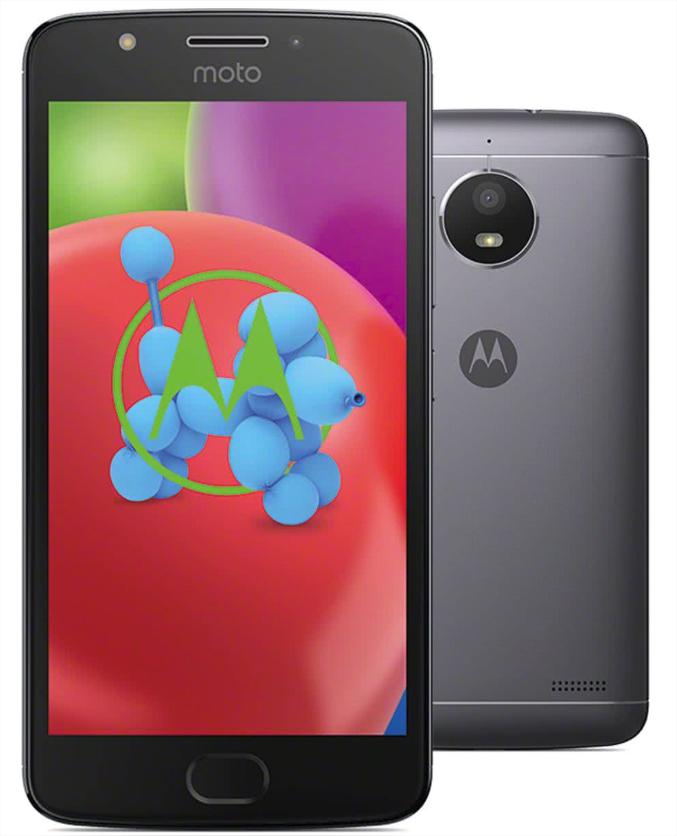 """Smartphone 5.5"""" Motorola Moto E4 - 3 Go RAM, 16 Go, Gris"""
