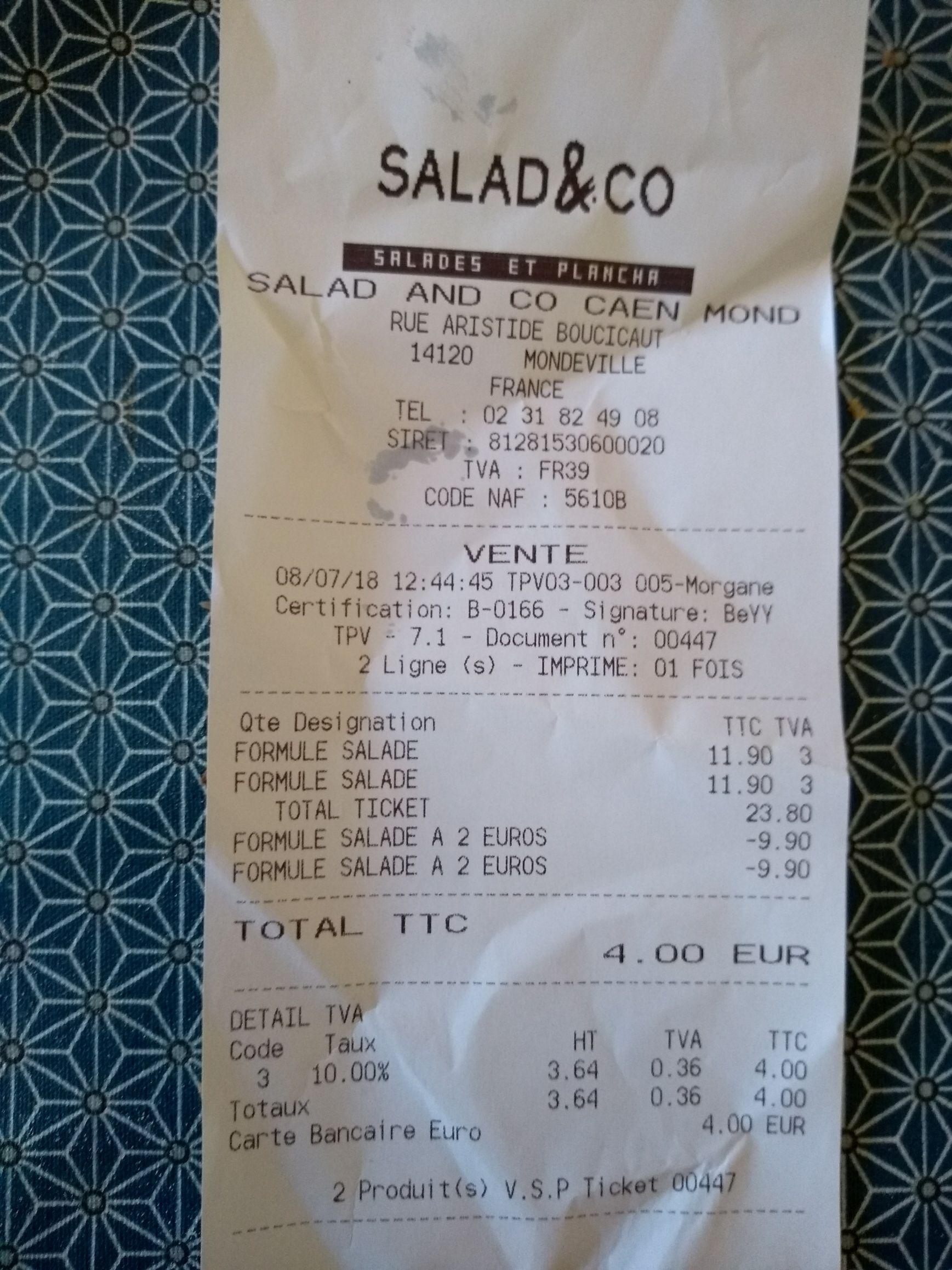 Salade bar et dessert à volonté - Salad&Co Mondeville (14)