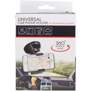 Support smartphone voiture (rotation 350°)