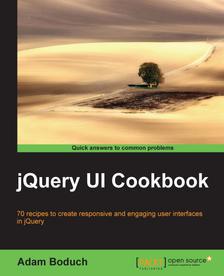 Un ebook offert par jour - Ex: jQuery UI Cookbook gratuit