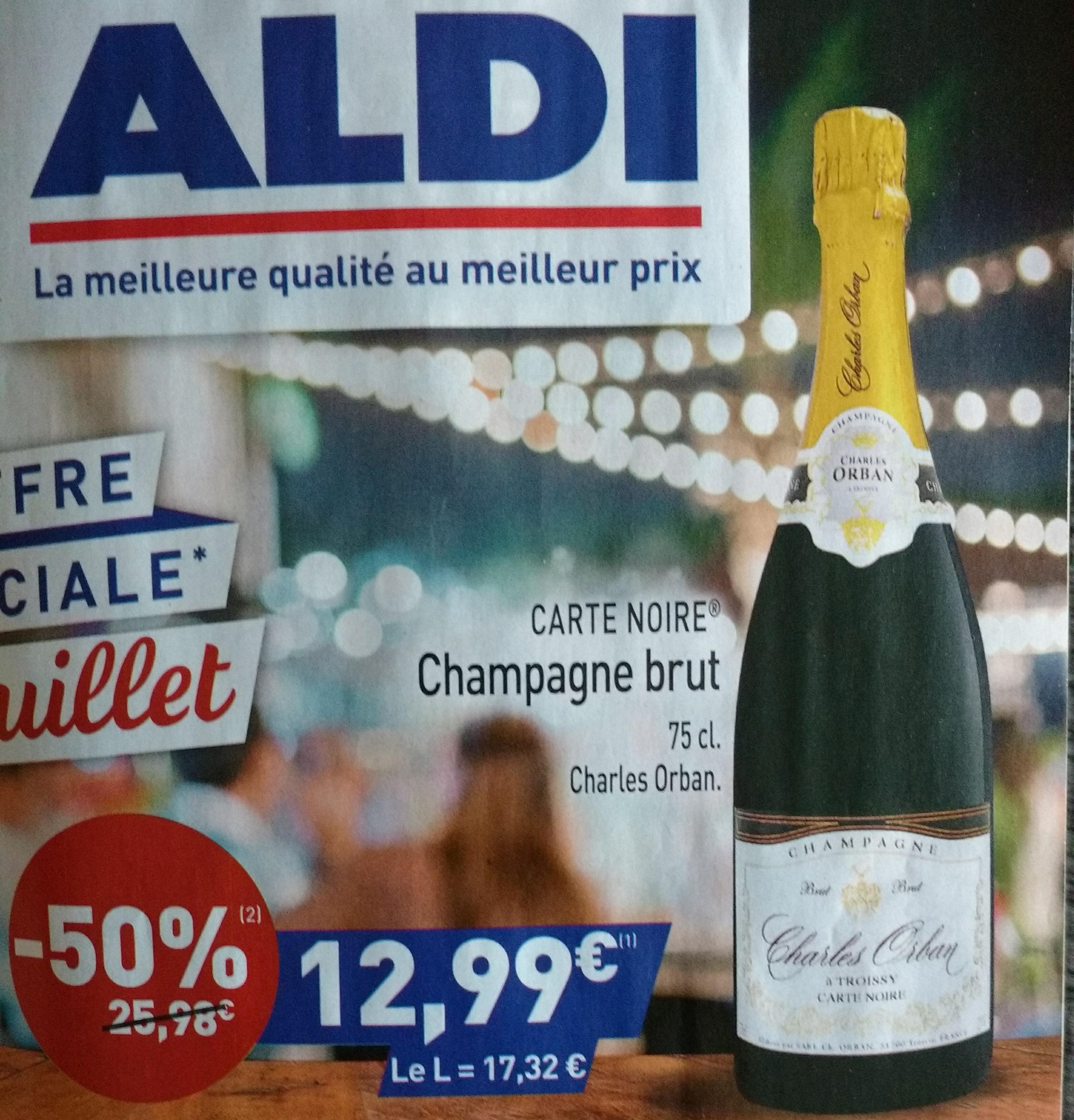 Champagne brut - 75cl