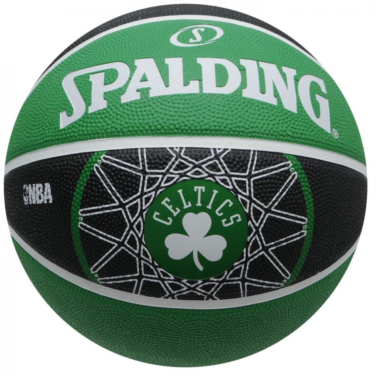 Ballon Basket Team SPALDING Boston Celtics - Taille 7