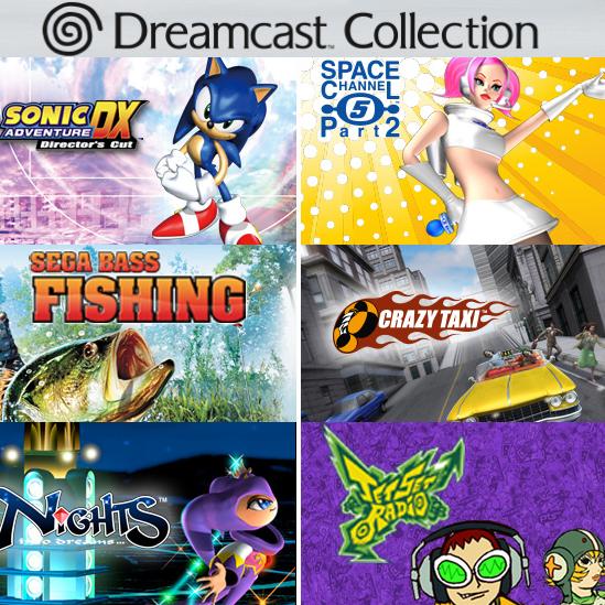 Pack Dreamcast Collection: Jet Set Radio + Crazy Taxi + NiGHTS Into Dreams + Sonic Adventure DX + Space Channel 5: Part 2 + Sega Bass Fishing sur PC (Dématérialisé - Steam)