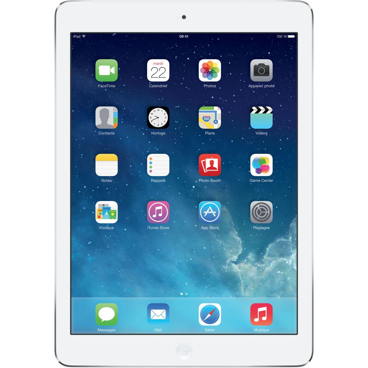 Tablette Apple iPad Air Argent 128Go 4G